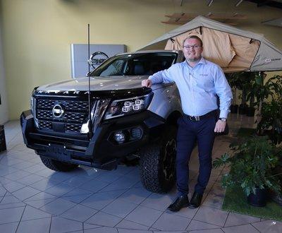 Jack Armstrong with Nissan Navara  image