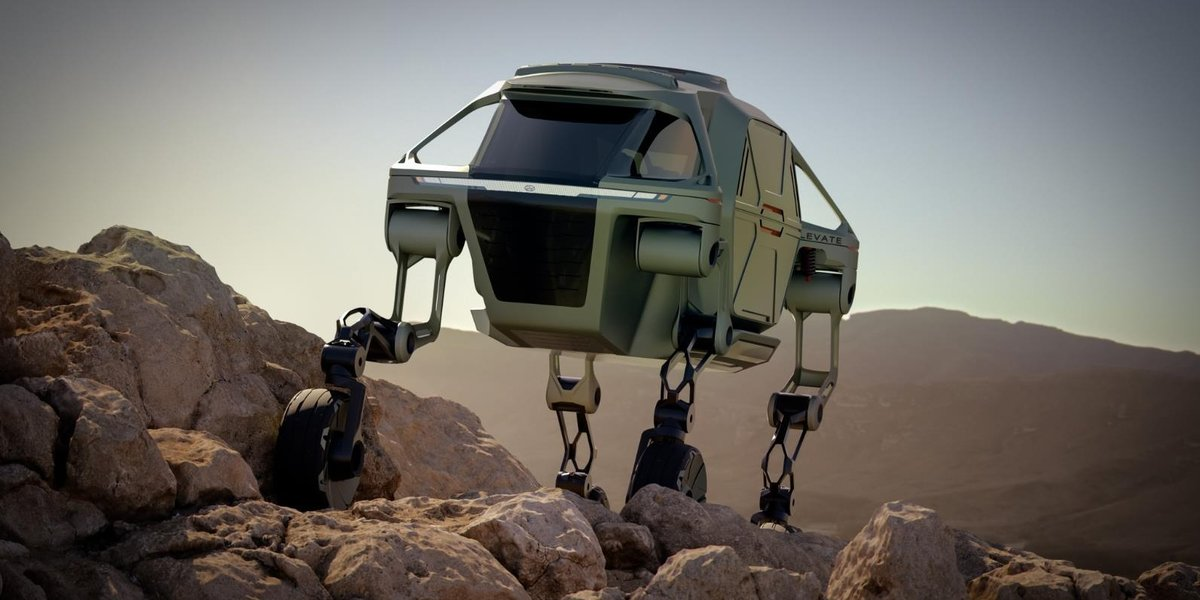 blog large image - Hyundai Walking Car Concept is the Future of the First Responder Industry