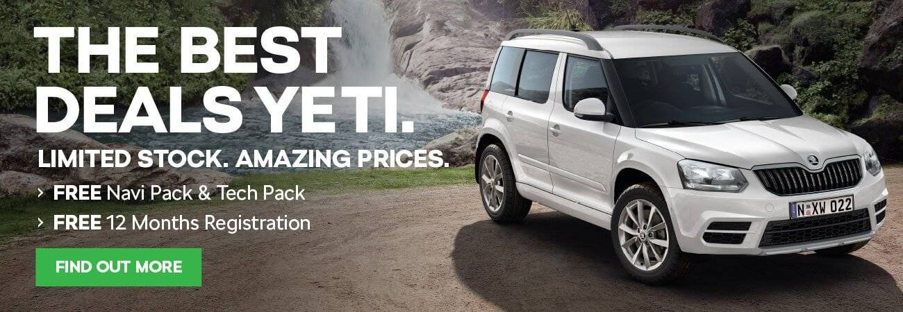 The Best Deals Yeti | Essendon Skoda