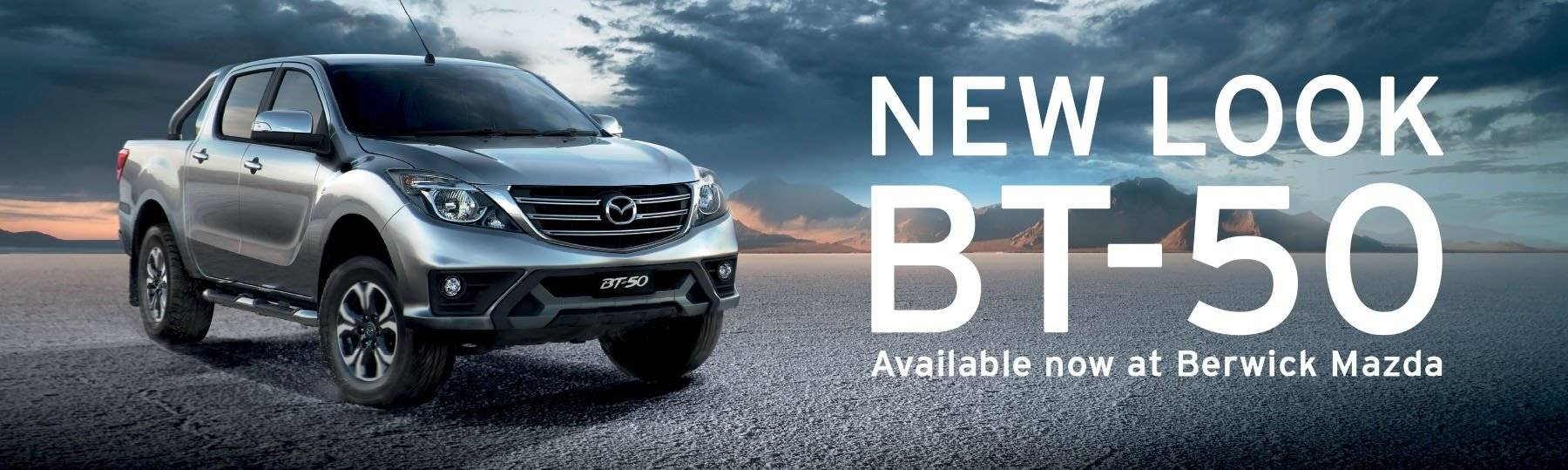 New-Look BT-50 has arrived at Berwick Mazda. Test Drive today!