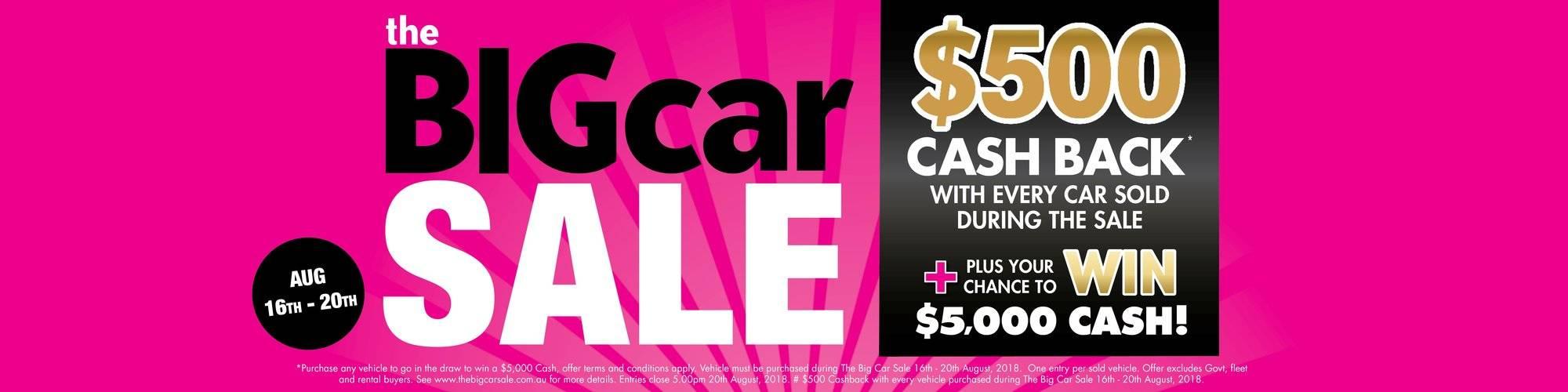 Big Car Sale