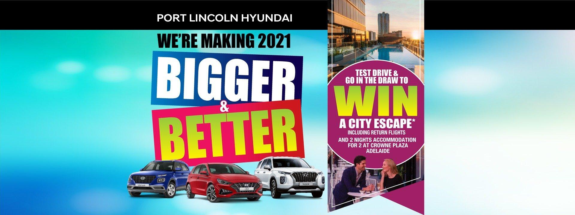 Port Lincoln Hyundai | Bigger & Better Special