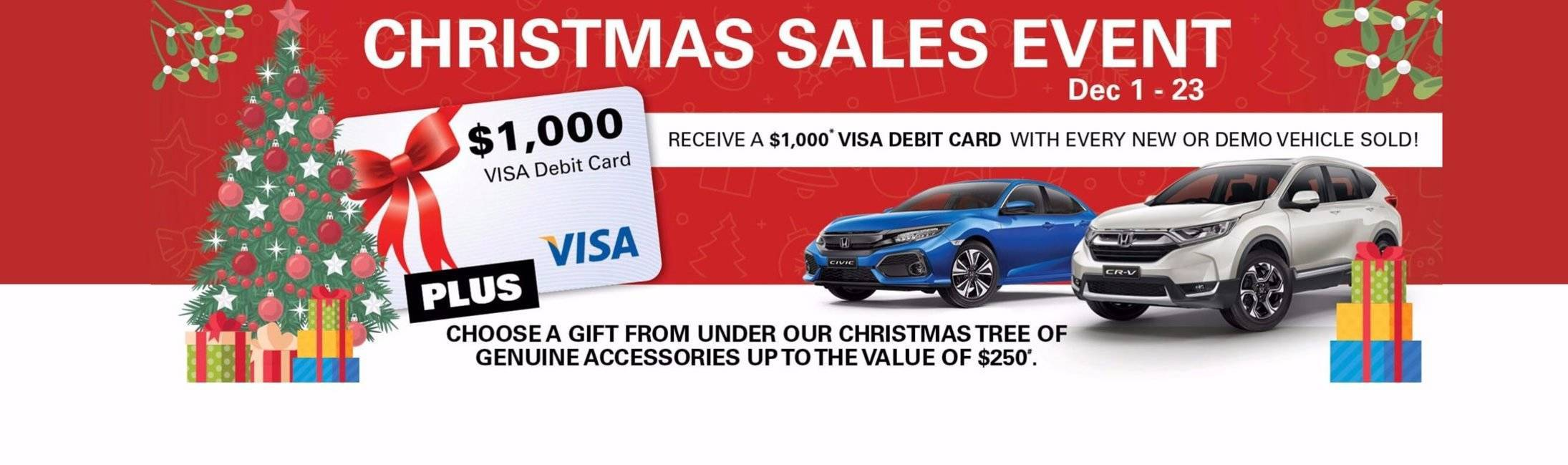 Alto Honda Christmas Sales Event