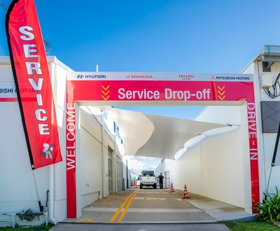 Service drive thru image