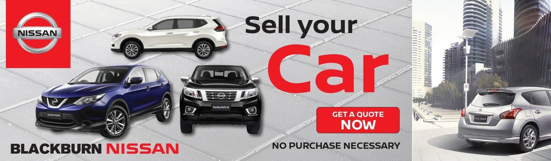 Blackburn Nissan - Sell Your Car