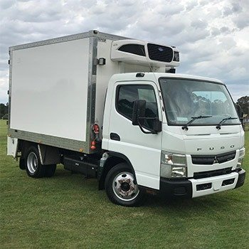 2016 Mitsubishi FUSO Canter Refridgerated Pantech truck Small Image