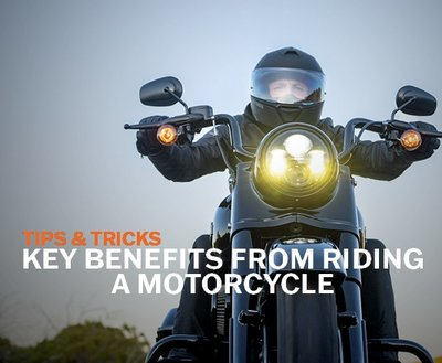 Key Benefits From Riding A Motorcycle | Tips & Tricks image