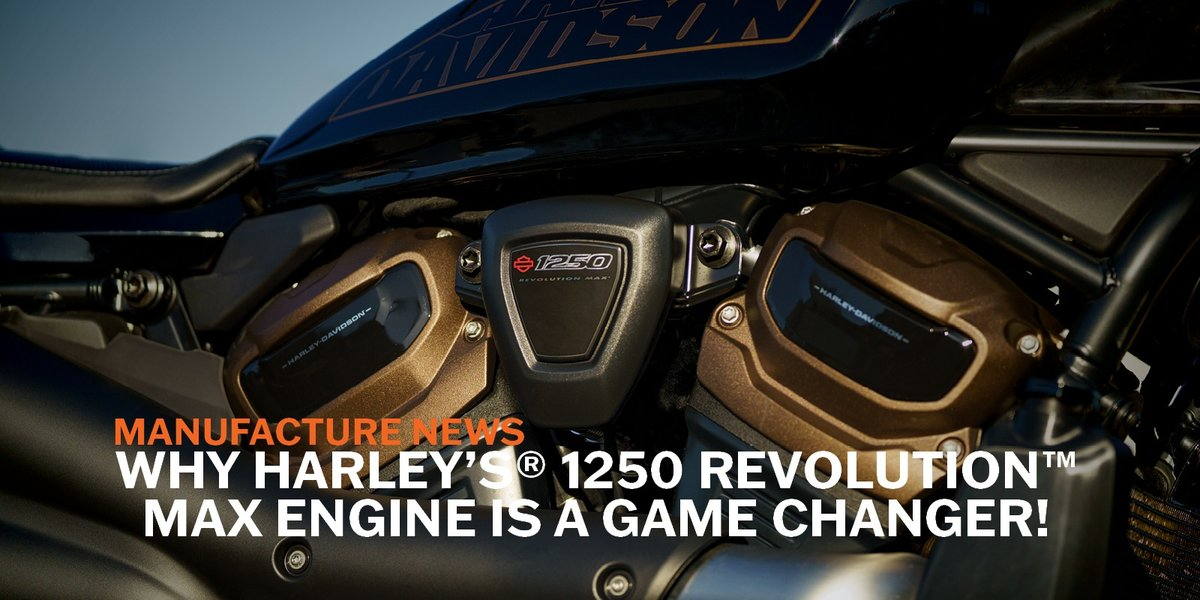 blog large image - Why Harley's® 1250 Revolution™ Max Engine Is A Game Changer!