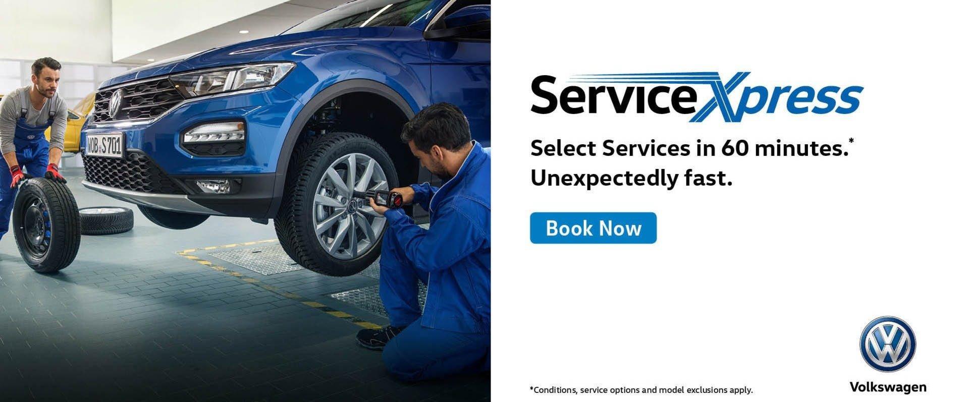 Ferntree Gully Volkswagen - Service Express