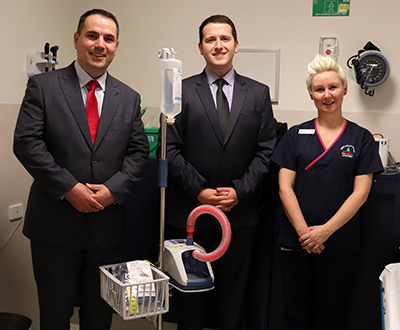 New AirVo2 Humidifier for the Austin Hospital in Heidelberg image