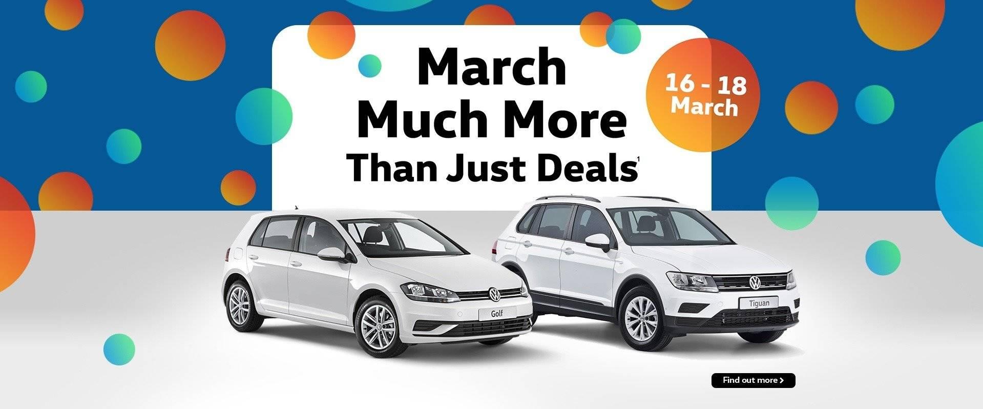 March Deals