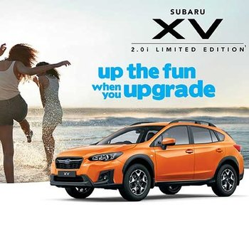 Subaru XV Scoop Purchase Sale is on NOW! Small Image