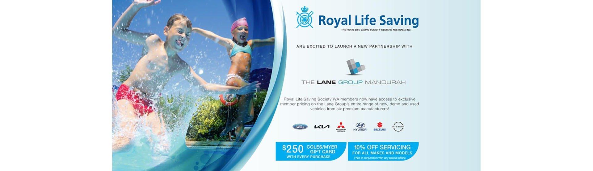 Royal Life Saving Society Partnership