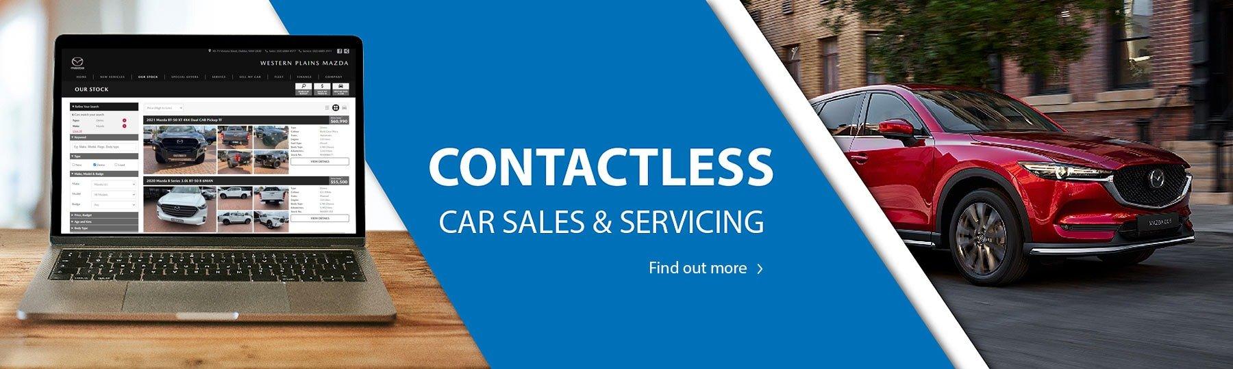 Contactless Car Sales Mazda