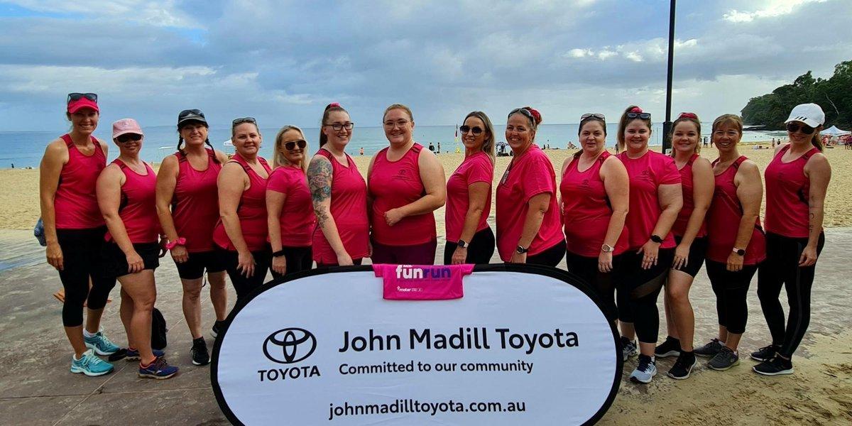 blog large image - JOHN MADILL TOYOTA RAISE BIG MONEY FOR BREAST CANCER