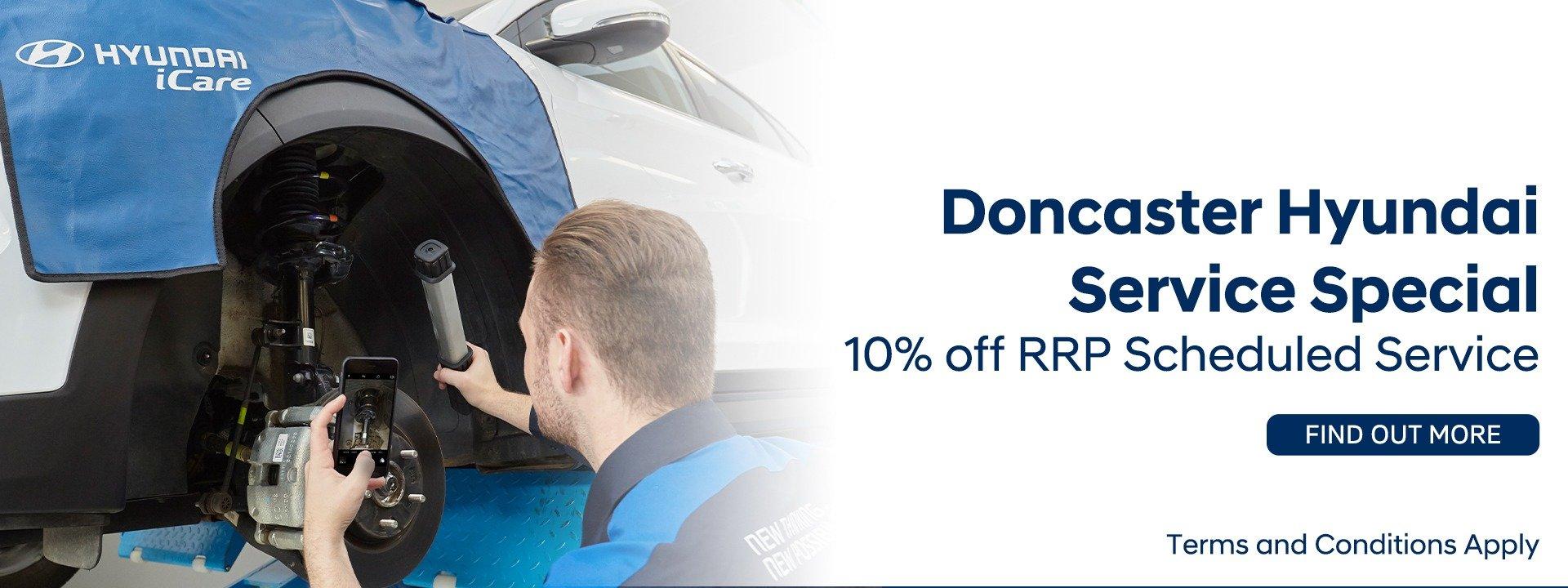 Doncaster Hyundai Service Specials