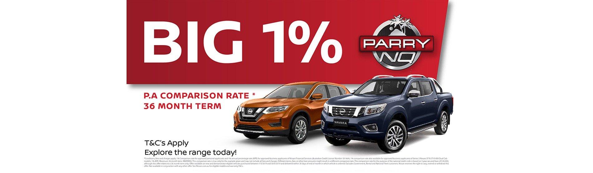 Parry NQ Nissan The Big 1%