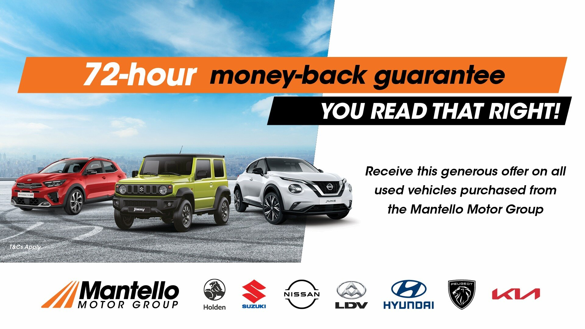72 hour money back guarentee