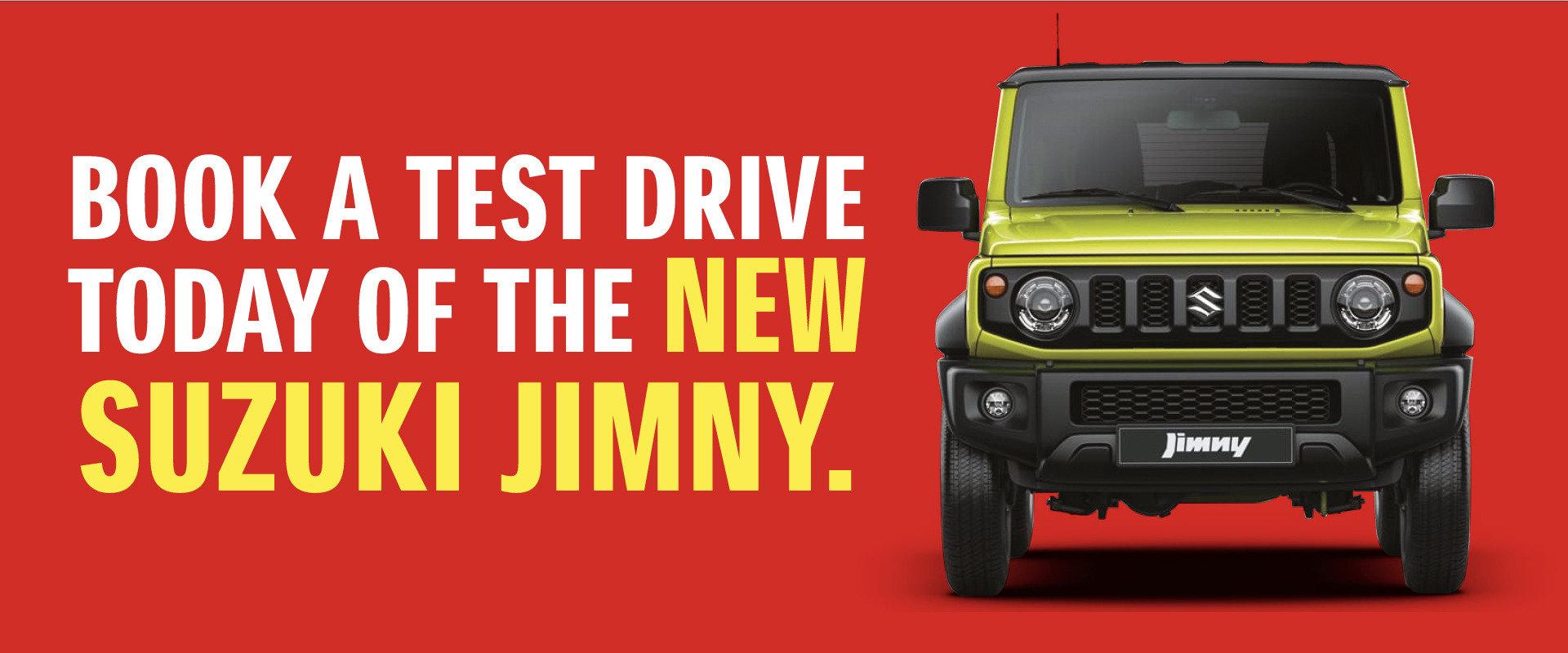 New Jimny Test Drive