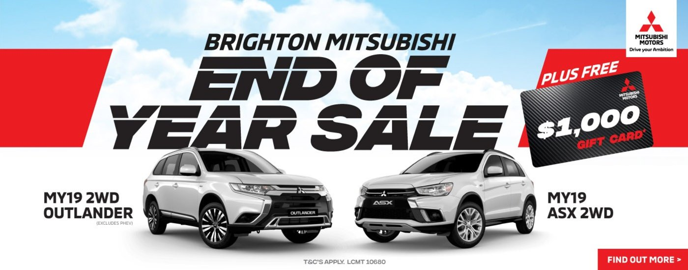 Brighton Mitsubishi Gift Card Offer