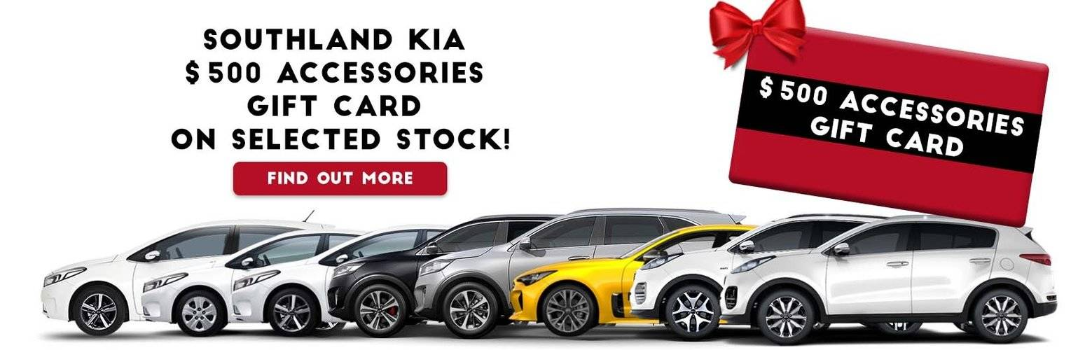 Southland Kia Accessories Offer