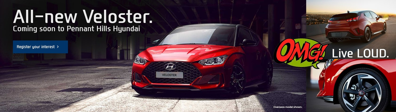 Pennant Hills Hyundai - All-New Veloster