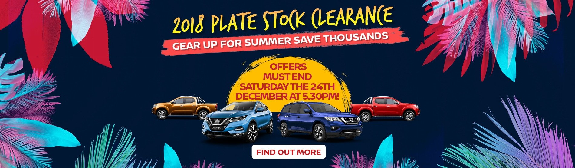 2018 Plate Stock Clearance