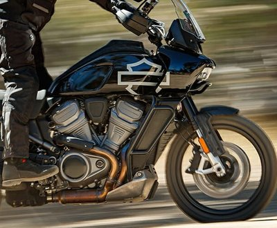 Harley Davidson's® First Adventure Bike image