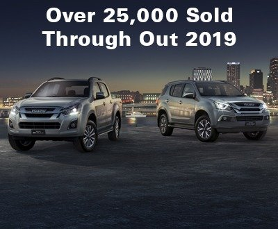 25,311 Sales of D-MAX and MU-X in 2019 image