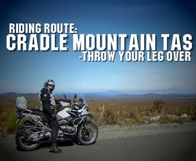 Riding Route: Cradle Mountain TAS  image