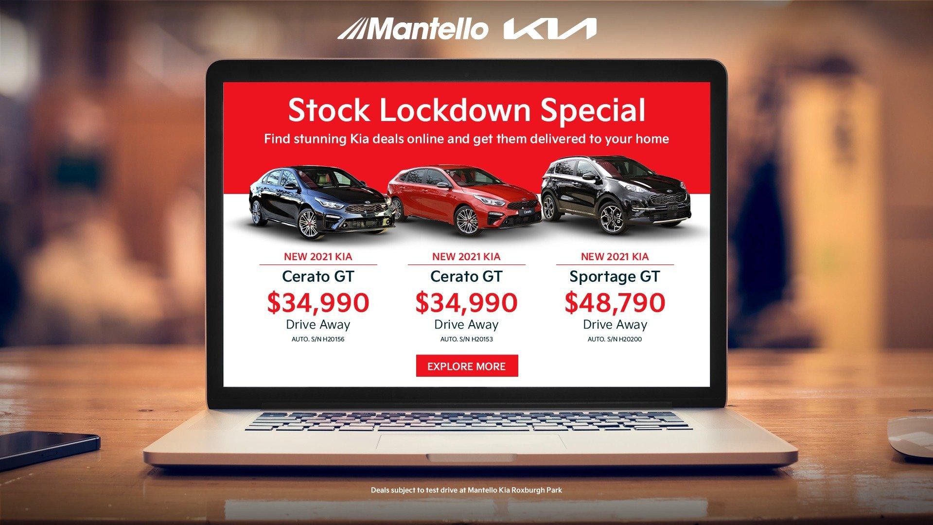 Kia stock specials