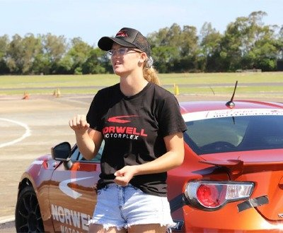 Holly Espray is one of two female drivers set to line up on the grid for the 2021 TGRA 86 Series image