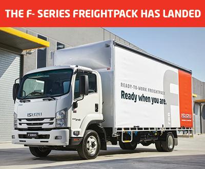 Isuzu Ready-To-Work F-Series Freightpack image