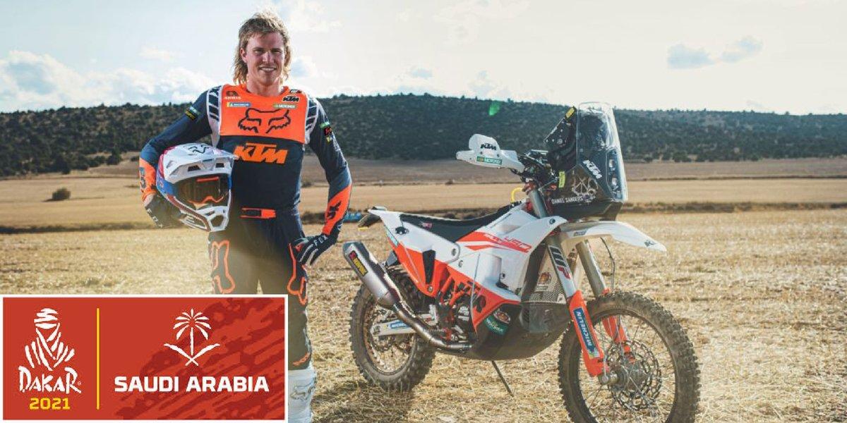 blog large image - Rookie Daniel Sanders Vs 2021 Dakar Rally