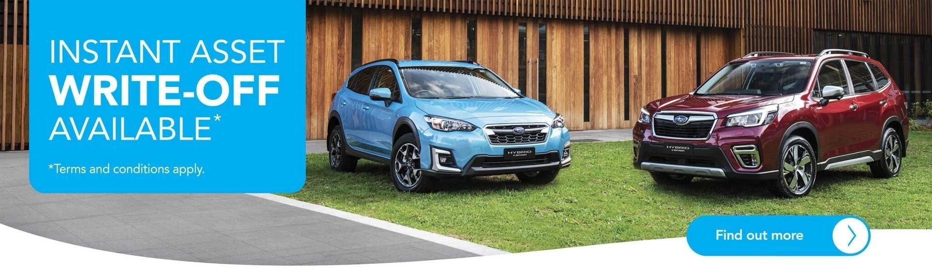 Subaru Instant Asset Write-Off