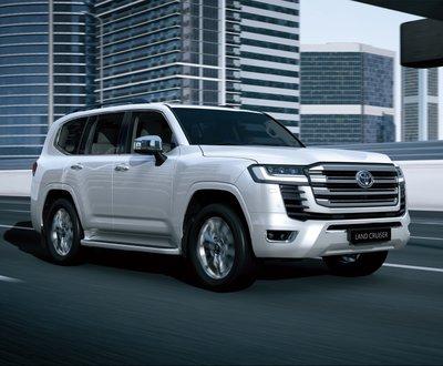 New Toyota LandCruiser: World premiere image