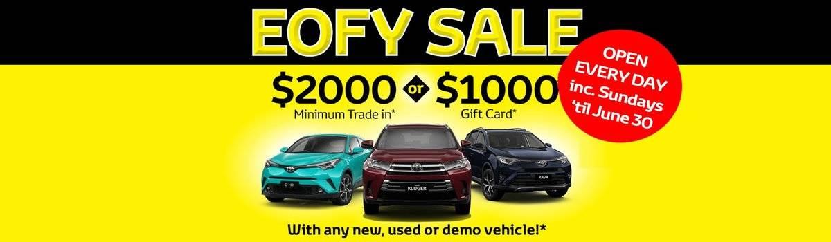 Waverley Toyota's EOFY Sale is on now! Large Image