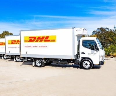 DHL Fuso Canter image