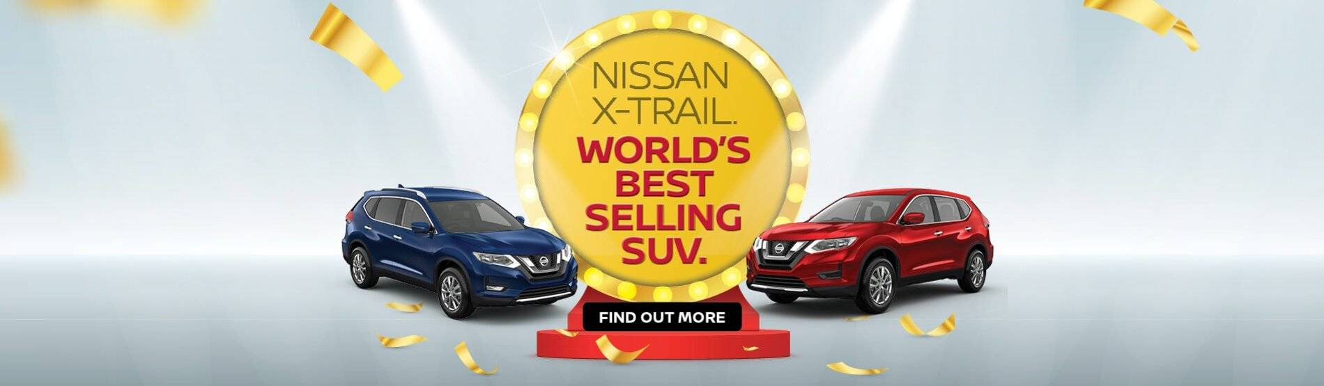 Nissan X-TRAIL, World's best selling SUV
