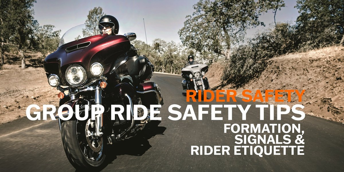 blog large image - Group Ride Safety Tips Part 2/3 | Formation, Signals and Rider Etiquette
