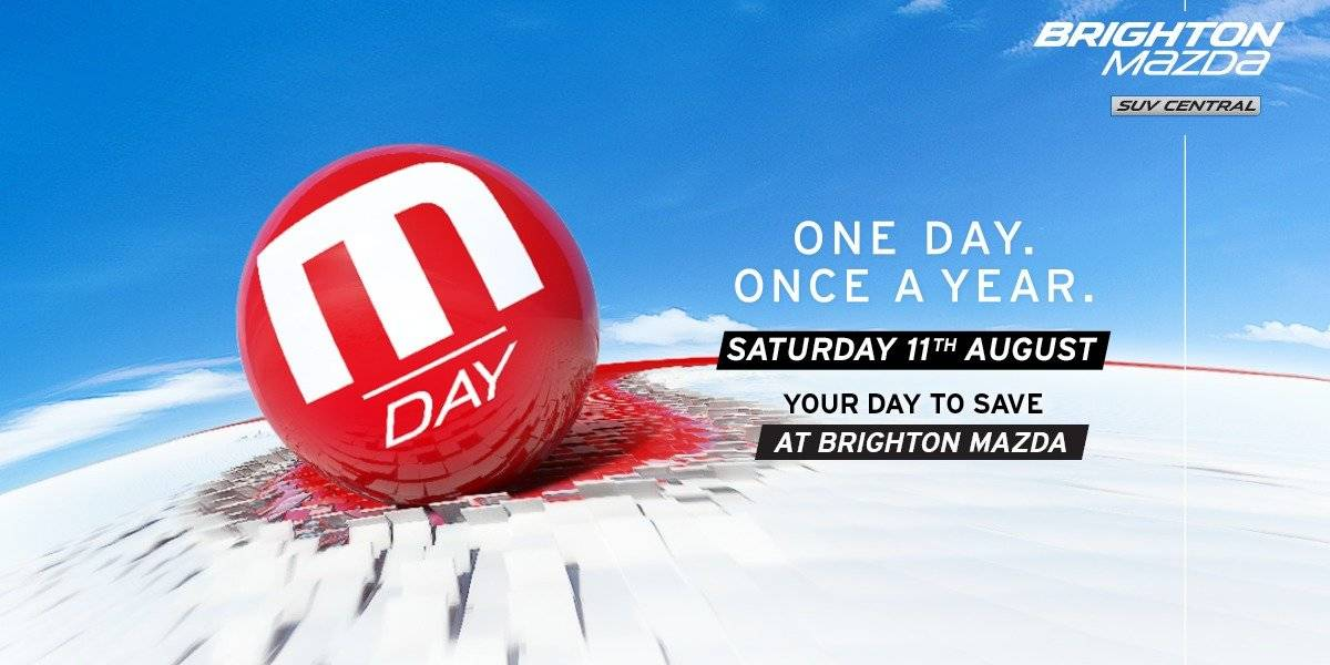 blog large image - Your guide to M Day at Brighton Mazda