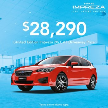 Impreza 2.0i Limited Edition Small Image
