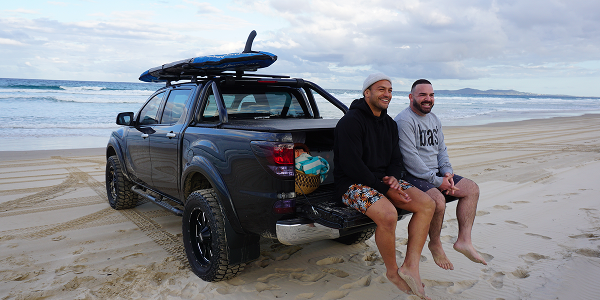 blog large image - Behind the Scenes at our Noosa BT-50 shoot