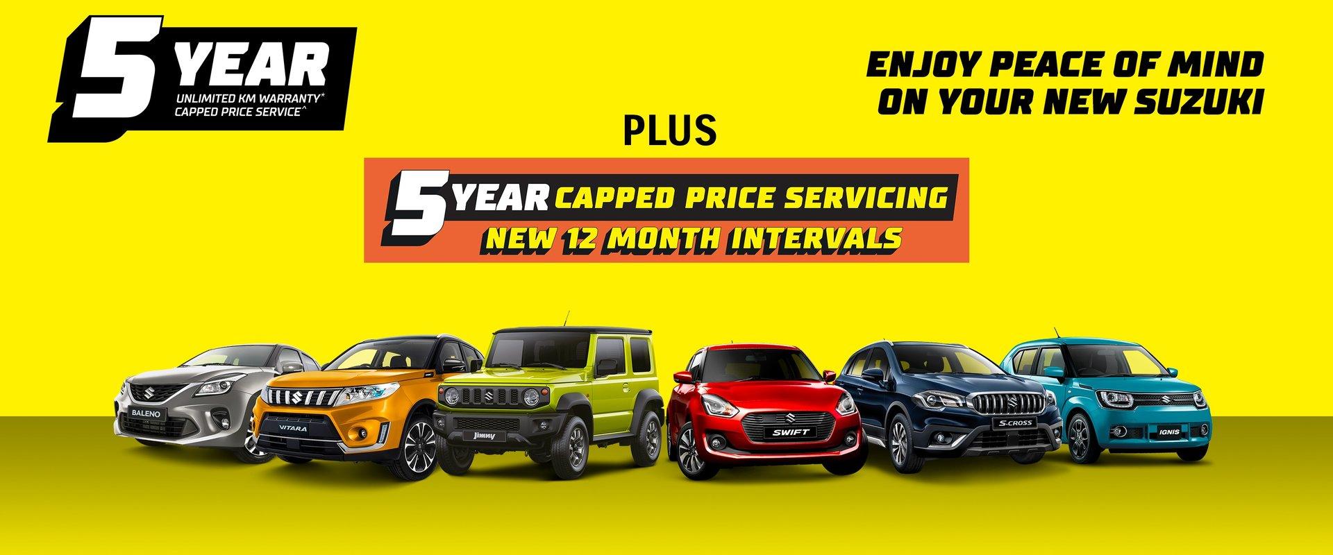 5 Years Unlimited KM Warranty