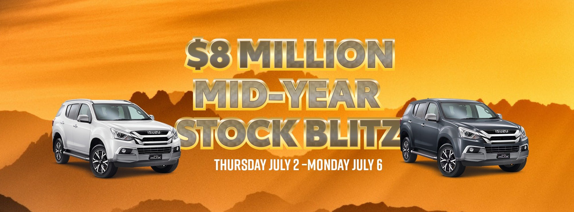 $8 million mid-year stock blitz