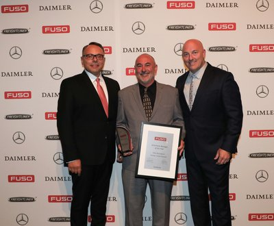 Daimler Trucks Adelaide winning several awards at the Daimler Truck and Bus National Dealer of The Year Awards for 2018 image
