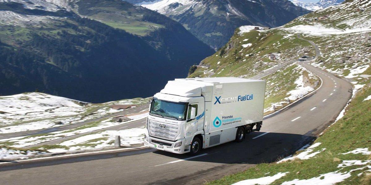 blog large image - Fleet of Hyundai XCIENT Fuel Cell trucks surpass 1 million-kilometre benchmark.