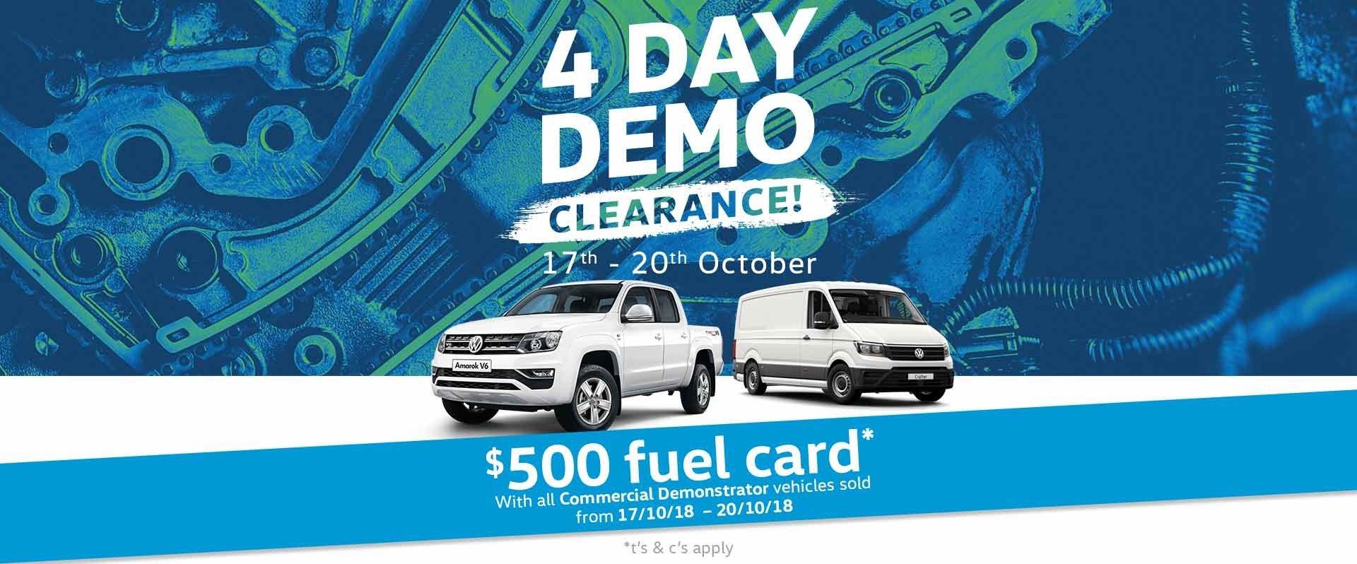 FTG Volkswagen - 4 Day Demo Sale