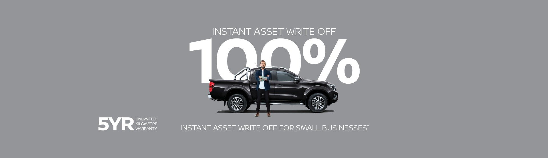 Instant asset write off Nissan