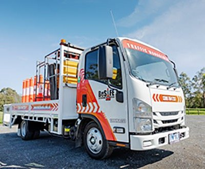 Custom designed Isuzu provides increased safety for BeSafe staff. image